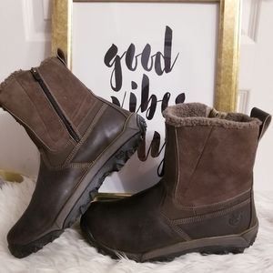 Timberland Sherpa-lined Winter Boots